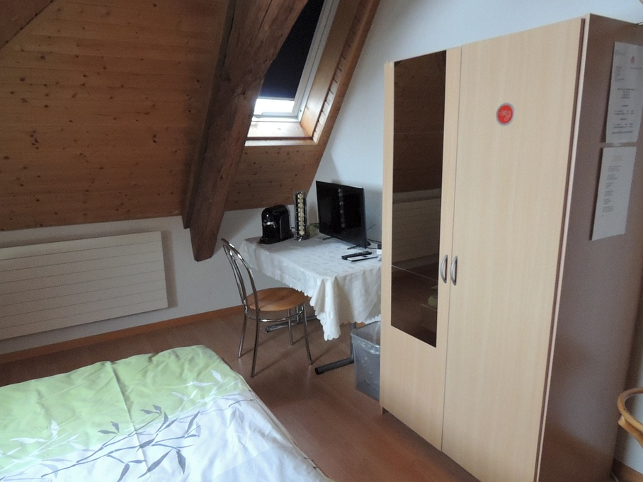 Chambre twin - Bed & Breakfast Flüler - Ependes